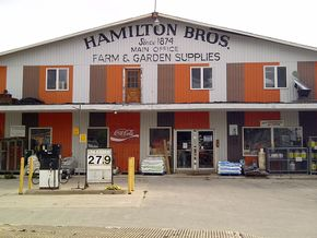Hamilton Bros Farm & Garden Supplies store front