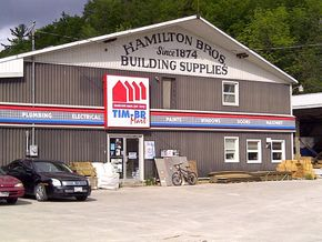 Hamilton Bros Farm & Building Supplies Ltd store front